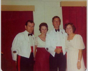 M K P Family Us 1976 - Hong Kong Dinner Night