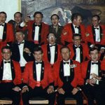 1974-8CPCCD RE posties group - add in: Bob Williams, in front of his camera