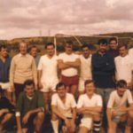 Back row L - R ~ Maj Nichols son, Dave Jones or Paddy O'Roake, Taff Jones, John Nicholls, Geor Calder, Keith Oxer, Jim Davidson, Dave Johnson, Tom McDermott, 10 could be someone ? Martin, Icon Beck, 12, Bob Hamblett Front row L - R ~ Mike (WO2)?, Andy Sleight, Wally Arnott, Derek Chapman, Finlay McCloud, Jimmy Grant, Tom O'Grady (Affectionally known as QOG)
