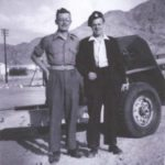 Hugh and Bill West at Aqaba, Jordan.