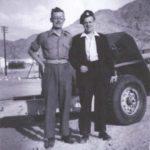 Hugh and Bill West at Aqaba, Jordan.