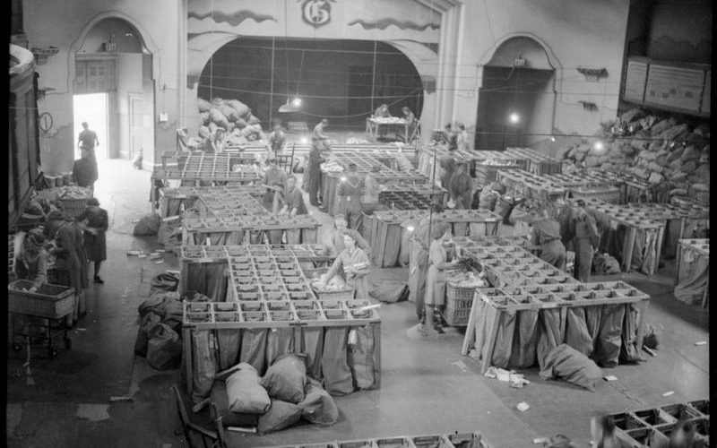 Slider 3 – WW2 Sorting Office